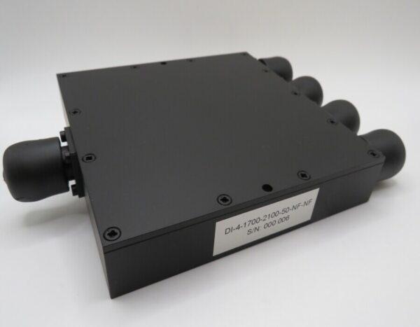 DETI MICROWAVE 4-WAY POWER DIVIDER 1,7-2,1 GHz 001676