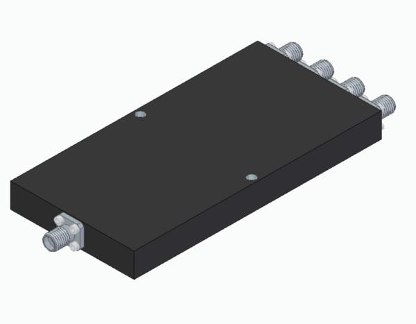 DETI MICROWAVE 4-WAY POWER DIVIDER 1-4 GHz 011212