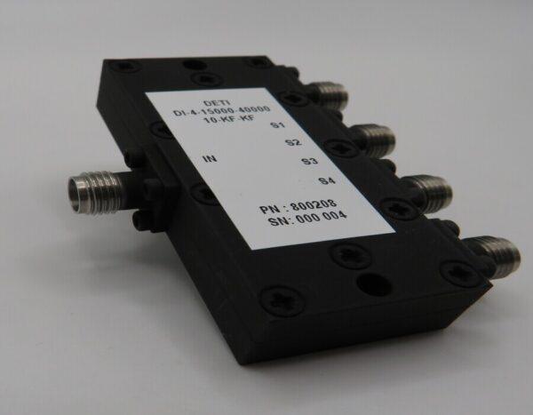 DETI MICROWAVE 4-WAY POWER DIVIDER 15-40 GHz 800208