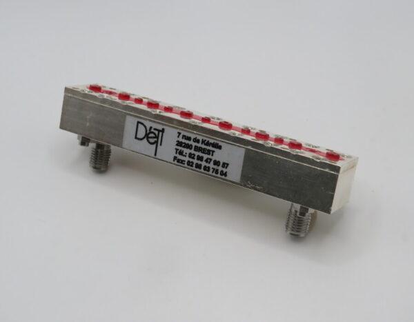 DETI MICROWAVE BANDPASS FILTER 7,25-7,5 GHz 001234