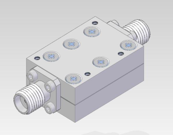 DETI MICROWAVE BANDPASS FILTER 2-18 GHz 800179