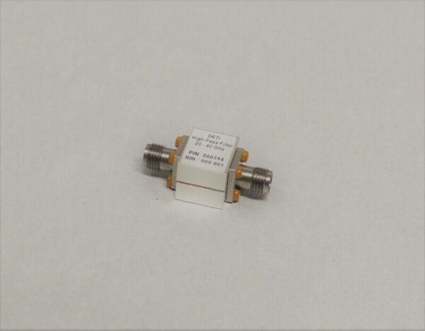 DETI MICROWAVE HIGHPASS FILTER 20-40 GHz 800194