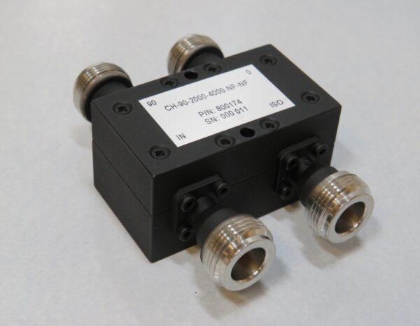 DETI MICROWAVE HYBRID COUPLER 2-4 GHz 800174