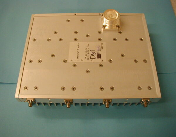 DETI MICROWAVE IN-PHASE HIGH POWER COMBINER 1,45-1,5 GHz 001394